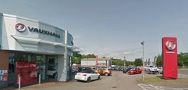 Thurlow Nunn's Vauxhall Motors franchised car dealership in Fakenham