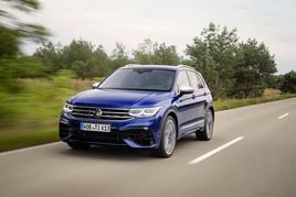 The new Tiguan R high performance SUV