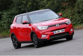 The SsangYong Tivoli