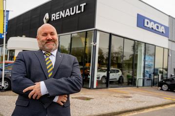 Tom Wash, general manager at Bristol Street Motors York Renault Dacia