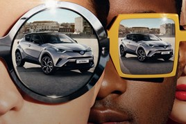 Toyota C-HR advertising campaign