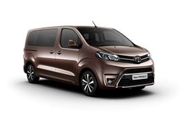 The new Toyota Proace