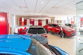 Inside Hendy Group's soon-to-open Toyota showroom in Christchurch