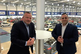 The Trade Centre Wales chief executive Andy Coulthurst and sales director Andy Wildy
