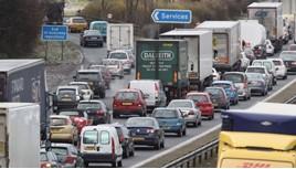 motorway traffic congestion