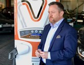 Kevin Pugh, who heads up EV charging specialist Tritium in the UK and Ireland