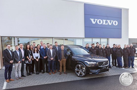 Truro Motor Company is the UK's top Volvo dealer of 2019