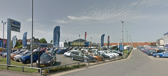 TrustFord's former Alperton Ford dealership site