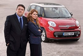 Dealer Auction will sell the famous Fiat 500 L from Peter Kay's Car Share
