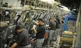 Nissan UK car plant