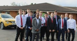 The West Way Nissan apprentices