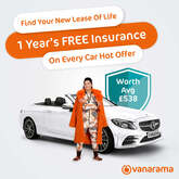 Vanarama 'Hot Car' offer