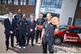 Winning team: Chris Taylor, Darius Defoe, Rahmon Fletcher, Robert Forrester (CEO Vertu Motors), Scott Martin and Fab Flournoy