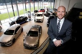 Vertu Motors Mercedes-Benz area director Mark Gibbings