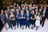 Master Award winners with Steph McGovern (far left) and Vertu CEO, Robert Forrester (centre, back)