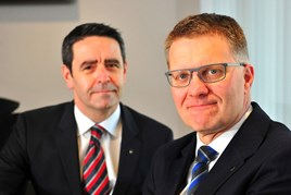 Robert Forrester and David Crane (L) Vertu Motors