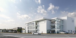 Williams Group's planned TraffordCity BMW and Mini dealerships