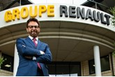 Renault UK managing director Vincent Tourette