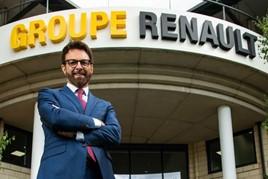Renault UK managing director Vincent Tourette