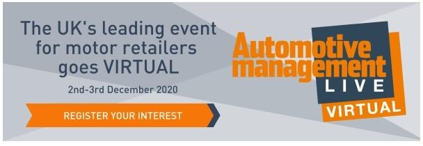 Automotive Management Live 2020 Virtual launch logo