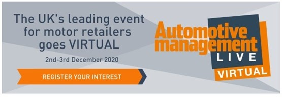 Automotive Management Live 2020 Virtual launch logo