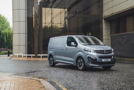 Vauxhall's e-Vivaro is the UK's best-selling electric van YTD