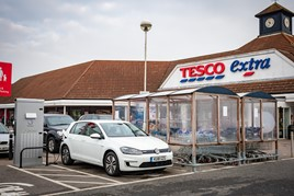 Volkswagen and Tesco partnership to create 2,400 new public electric vehicle (EV) charge points across the UK