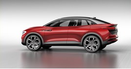Volkswagen's I.D. CROZZ EV concept car