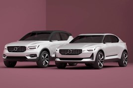 Volvo 40.1 and 40.2 concept cars