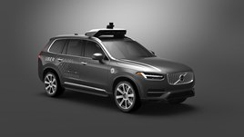 Volvo Cars and Uber XC90