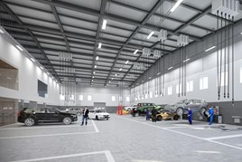 Volvo Daventry workshop