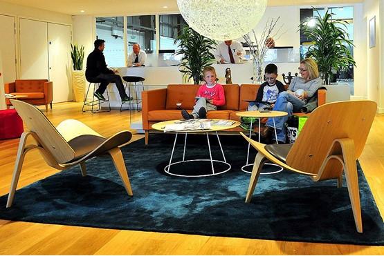 Volvo lounge