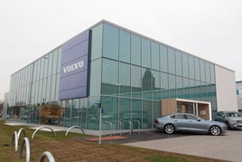 Volvo Stockport exterior shot 2018