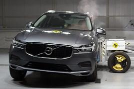 Volvo XC60 in Euro NCAP testing