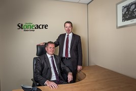 Stoneacre Motor Group's Shaun Brookhouse and Paul Vozbutas