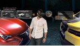 VRoom's virtual reality car showroom