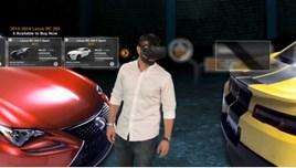 VRoom's virtual reality car showroom