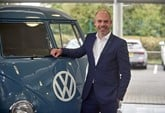 Rob Holdcroft, Volkswagen Commercial Vehicles' national sales manager