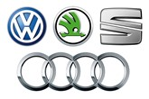 VW Group brand logos