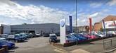 The existing Volkswagen UK franchised car dealership on Manchester Road, Oldham