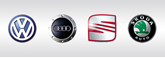 VW Group logos