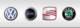 VW Group logos