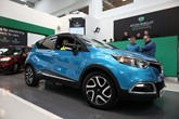 A Renault Captur is auctioned at Aston Barclay's Wakefield remarketing centre