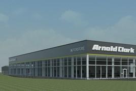 Artist's impression: Arnold Clark's 27th Motorstore, in Wakefield
