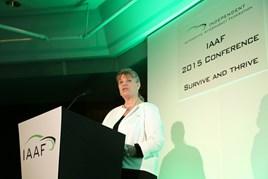 Wendy Williamson, IAAF chief executive