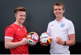 Match up: Wessex Garages' Joel Clark and Craig Barnes