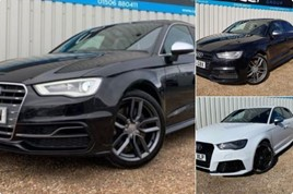 Police appeal: high performance Audis stolen from a West Lothian car dealer