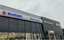 Westaway's new Suzuki dealership in Northampton