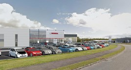 Western Honda's planned facility in Stirling