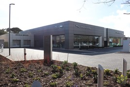 Westover Group's new Christchurch JLR dealership